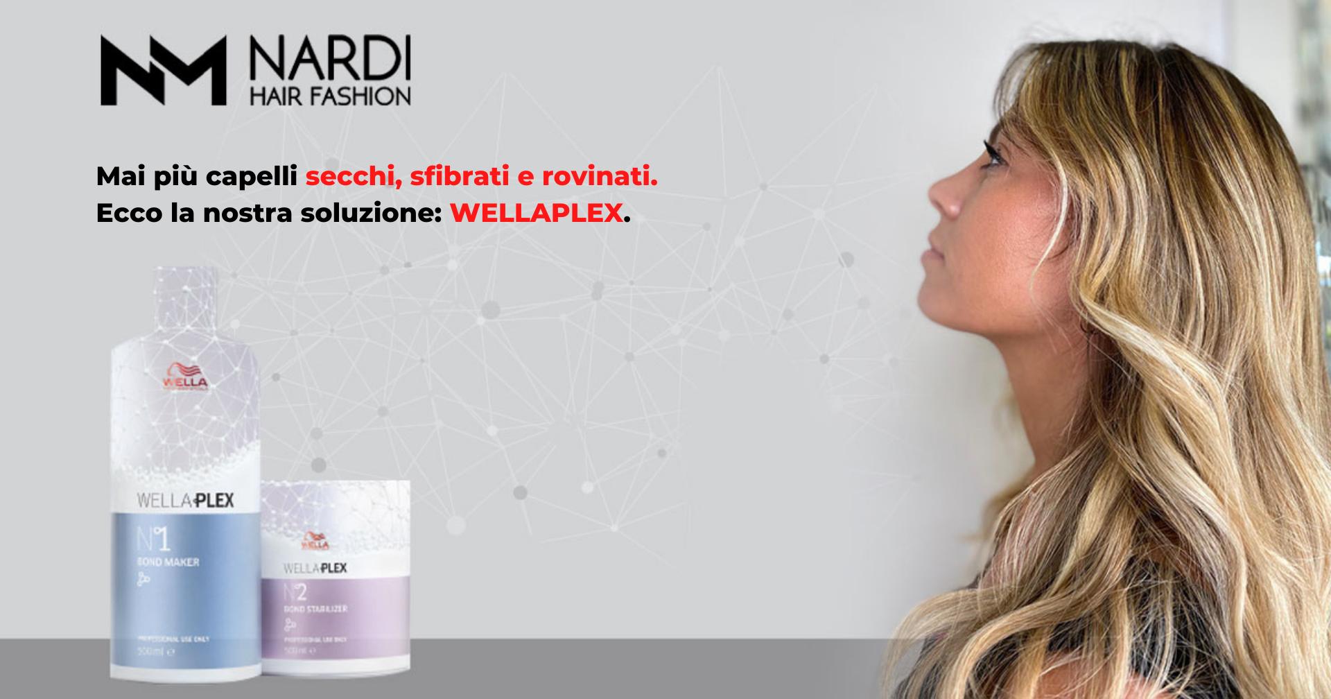 Mai più capelli secchi, sfibrati e rovinati. Ecco la nostra soluzione: WELLAPLEX.