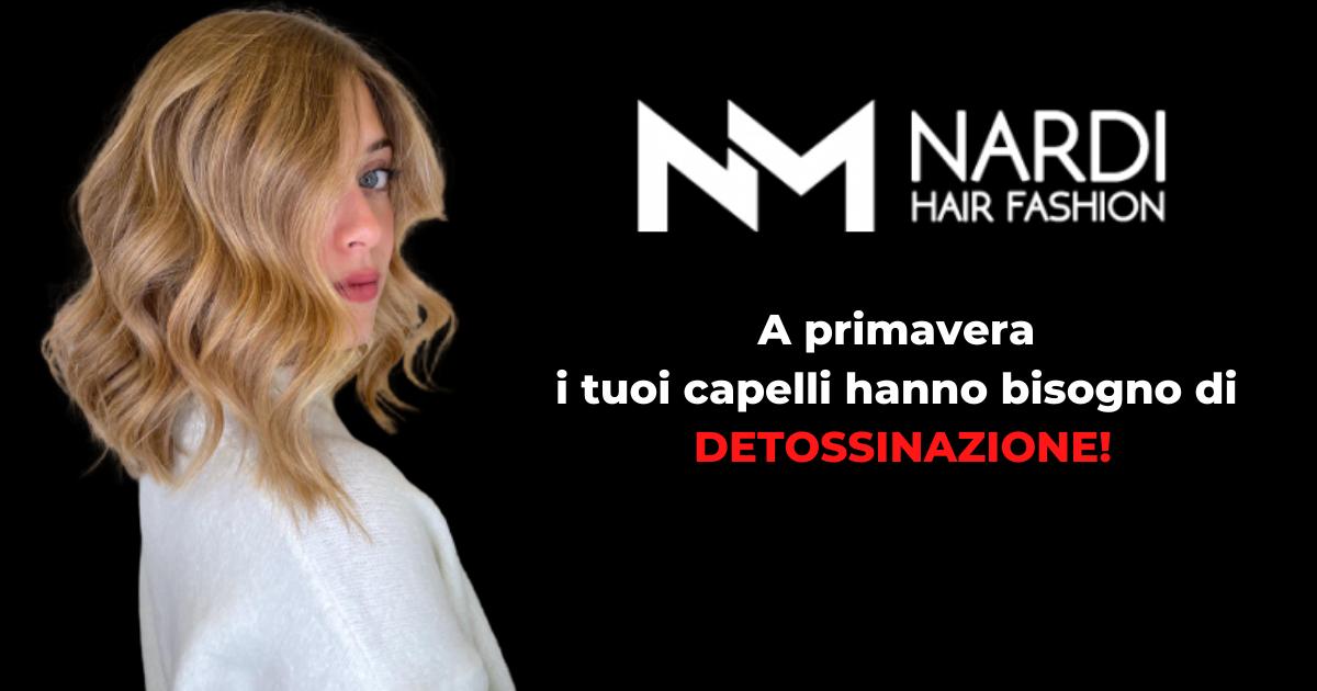 A primavera i tuoi capelli hanno bisogno di DETOSSINAZIONE!