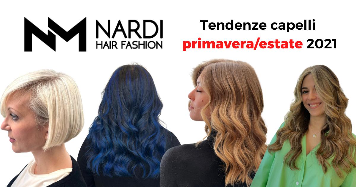 Tendenze capelli primavera/estate 2021